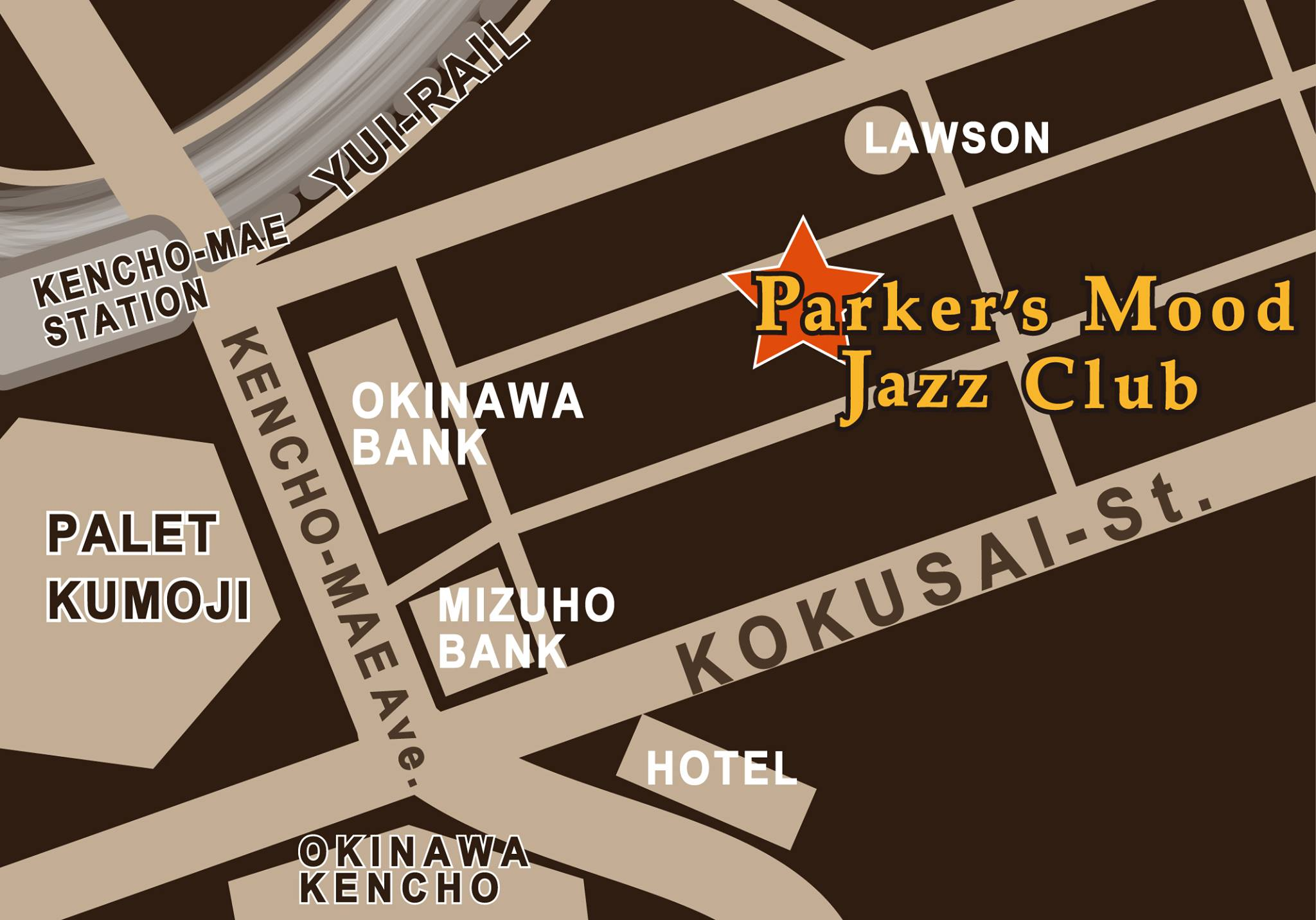 Parker's Mood Jazz Club Naha,Okinawa.